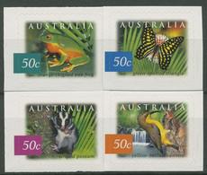 Australien 2003 Fauna Und Flora Des Austral. Regenwaldes 2241/44 BA Postfrisch - Nuevos