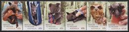 Australien 2010 Aufzucht Verwaister Wildtiere 3471/76 ZD Postfrisch (C24003) - Nuevos