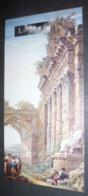 Carton Invitation Louvre - Expo Charles-Louis Clérisseau (1721-1820) Dessins Du Musée De L'Ermitage, Saint-Pétersbourg - Paintings