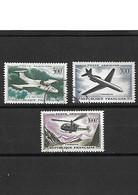 1534 Poste Aérienne YT 35-36-37 Oblitérés - 1927-1959 Matasellados