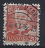 Denmark  1948-51 Frederik IX  (o) Mi.304 (cancelled STOKKEMARKE) - Used Stamps