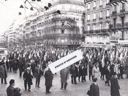 PARIS - 17 NOVEMBRE 1973 - 37e CONGRES DE L'ARAC - MANIFESTATION RUE DE WAGRAM - Unclassified
