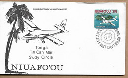 TONGA, NIUAFO'OU 1983 FDC UNUSED - Tonga (1970-...)