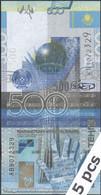 TWN - KAZAKHSTAN 29b - 500 Tenge 2006 DEALERS LOT X 5 - Prefix ЖВ UNC - Kasachstan