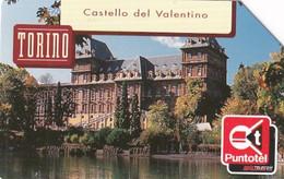 ITALY - Torino, Linee D'Italia 2001/Piemonte, Exp.date 31/12/03, Used - Öff. Werbe-TK