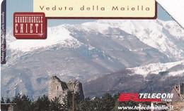 ITALY - Chieti, Linee D'Italia 2000/Abruzzo, Exp.date 31/12/02, Used - Öff. Werbe-TK