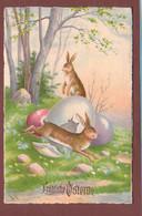 Des LAPINS Et Des OEUFS - PÂQUES - Easter