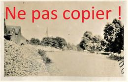 PHOTO FRANCAISE DE LA 2e DIC - UNE VUE DE TOURS SUR MARNE PRES DE ATHIS - MAREUIL SUR AY 1917  - GUERRE 1914 1918 - 1914-18