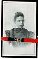 Bertha Terlinck O Veurne 1879 + Veurne 1902 - Images Religieuses