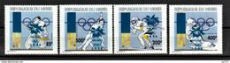 B- Niger 1996 Winter Olympic Games - Nagano, Japan MNH** - Níger (1960-...)