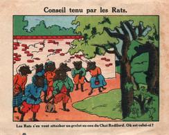 Publicité Antiseptique Urinaire: Urodonal - Chromo: Fable De La Fontaine: Conseil Tenu Par Les Rats - Pubblicitari