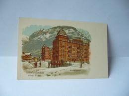 GRINDELWALD SUISSE BE BERNE HOTEL BAER WINTERSPORT  CPA - BE Berne