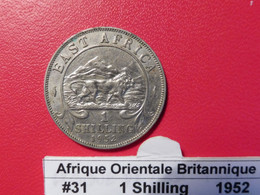 Afrique Orientale Britanique 1 Shilling 1952 KM#31 - British Colony
