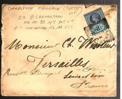 42480 - De CARMARTHEN Pour La France - Briefe U. Dokumente