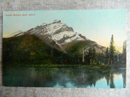 CASCADE MOUNTAIN .     BANFF            ALBERTA - Banff