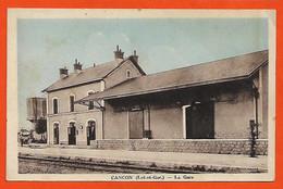 47 Cancon La Gare Sans éditeur Dos Scanné - Autres Communes