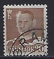 Denmark  1948-51 Frederik IX  (o) Mi.305 (cancelled GRAM) - Used Stamps