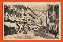Monaco Monte-Carlo Rue Grimaldi Boutiques Tacot Animée éditeur Yvon 28/266 Paris Dos Scanné - Monte-Carlo