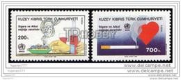 TRNC (Mi-271/272) NORTHERN CYPRUS WORLD HEALTH DAY MNH** - Unused Stamps