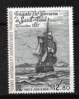 "TAAF  Poste Aérienne  N°88  Frégate "" La Novara En 1857   Neuf  * * TB  = MNH  VF     Soldé   ! ! !! - Luchtpost"