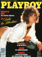 PLAYBOY N° 18 - Janvier 1987 - Jacques VERGES - MARQUIS DE SADE - Roger ZABEL - Michel SARDOU - Marilyn MONROE - General Issues