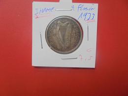 IRLANDE 2 FLORIN 1933 ARGENT (A.5) - Irlanda