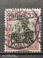 Deutsche Reich Mi-Nr. 81 L Y Gestempelt Farbsigniert KW 100€ - Gebraucht