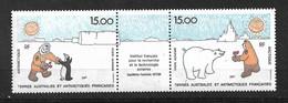 TAAF  Poste Aérienne  N°120A Recherche Paul  Emile VICTOR Manchots Et Ours  Neufs * * TB  = MNH  VF   Soldé   ! ! !! - Luchtpost