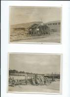 3  PHOTOGRAPHIES  Datées 1918   Pries à     SOMMESOUS - Sonstige Gemeinden