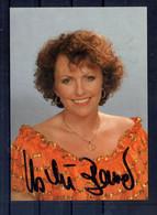Ushi Bauer. Carte Moderne Avec Autographe - Singers & Musicians