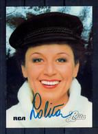 Lolita. Carte Moderne Avec Autographe - Singers & Musicians