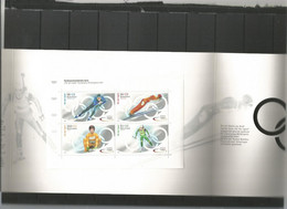 DBP 2002 Ol. Winter Games Sheet In Special Map  Y.T. 2067/2070  ** - Blokken