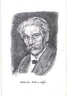 Thème - Célébrité - Alsace - Albert Schweitzer - Illustration M Bittler 1986 - Nobel Prize Laureates