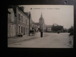 Clugnat Place Et Eglise - Other Municipalities