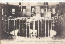 381. LUXEUIL-LES-BAINS . PISCINE DU BAIN GRADUE  . ECRITE AU VERSO - Luxeuil Les Bains
