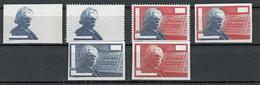 Probedruck Test Stamp Specimen Pruebas Edvard Grieg Prove 1986  6 Stück - Proofs & Reprints