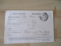 Pinquet Editeur Avignan Carte Franchise Postale Militaire  Guerre 14.18 - Guerra De 1914-18