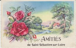 ST SEBASTIEN (44) - Amitiés De - Bon état - Saint-Sébastien-sur-Loire