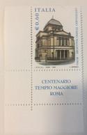 2004 - Italia - Centenario Del Tempio Maggiore In Roma - E.0,60 - 2001-10:  Nuovi