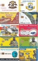 10 Télécartes AFRIQUE Lot5 - Sonstige - Afrika