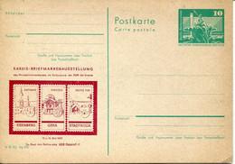 61837 Germany Ddr, II Kreis Briefmarkenaustellung 1982 Eisenberg, Gera, Stadtroda - Postales Privados - Nuevos