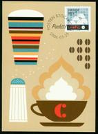 Mk Sweden Maximum Card 2006 MiNr 2522   Coffee Drinking. Coffee Cups - Cartes-maximum (CM)