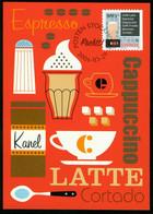 Mk Sweden Maximum Card 2006 MiNr 2523   Coffee Drinking. Cafe Latte And Menu - Cartes-maximum (CM)