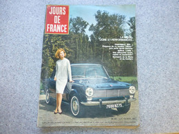 Jour De France Octobre 1963, Automobile SIMCA 1500 Jane Fonda  ; REV03 - Auto/Motorrad
