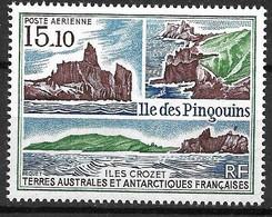 TAAF PA N°101 Île Des Pingouins  Vue Des Cotes  Neufs * * TB= MNH VF Soldé  Le Moins Cher Du Site !! - Luchtpost