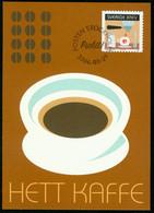 Mk Sweden Maximum Card 2006 MiNr 2524   Coffee Drinking. Coffee Machine And Cup - Cartes-maximum (CM)