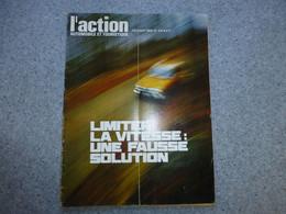 L'ACTION Automobile Février 1969, Limiter La Vitesse : Une Fausse Solution ? Salons Sao Polo Et Bruxelles ; REV03 - Auto/Motorrad