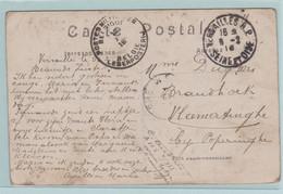 1914-1918  Militaire Briefwisseling  Naar  VLAMERTINGE Bij Poperinge - Verzamelingen