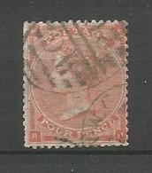GRANDE BRETAGNE    1862  N°   25  Obl  (2 ) - Gebraucht