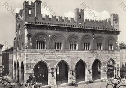 CARTOLINA  PIACENZA,EMILIA ROMAGNA ,PALAZZO GOTICO, STORIA,CULTURA,RELIGIONE, VIAGGIATA 1960 - Piacenza
